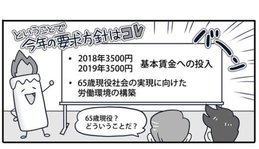 春闘説明漫画(新日鐵住金本社労働組合様)