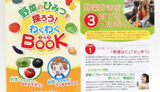 「野菜のひみつを探ろう!わくわくBook」冊子用漫画(カゴメ株式会社様)